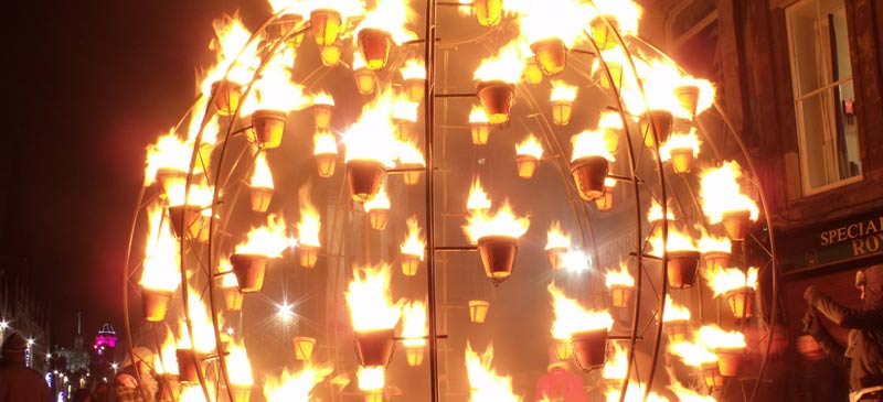 Hogmanay Firelight