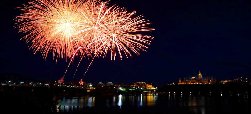 Best places across Canada to watch Canada Day fireworks