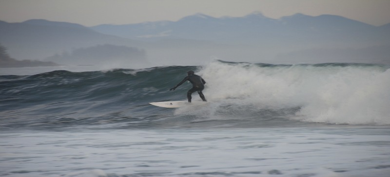 Hang 10: Winter surfing in Tofino
