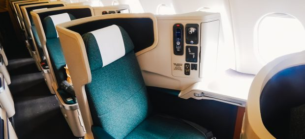 What are the different airline classes?