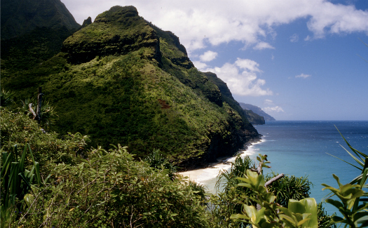 View from the Kalalau Trail (Image: kubina used under a Creative Commons Attribution-ShareAlike license)