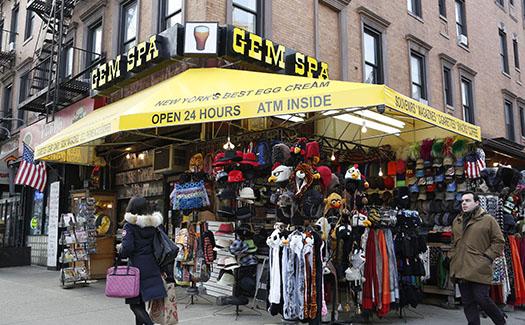 Gem Spa, East Village, Manhattan