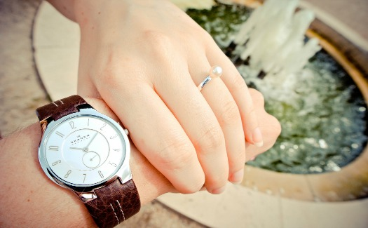 Engagement Ring & Watch