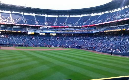 Yell bravo for the Atlanta Braves at Turner Field. (Image: Tripp Waller, Turner Field via Flickr CC BY 2.0)