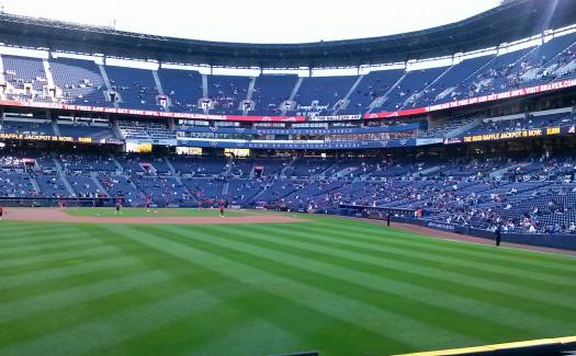 Yell bravo for the Atlanta Braves at Turner Field. (Image: Tripp Waller, Turner Field via Flickr CC BY 2.0)