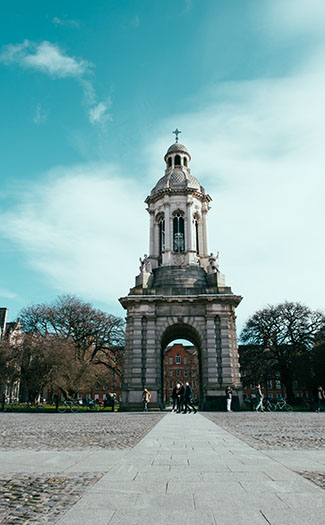 Stroll through Trinity College for a free thing to do in Dublin