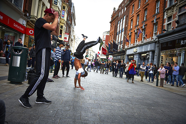 Free thing ro do in Dublin is people watch on Grafton Street