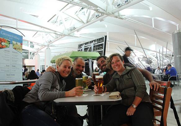 JFK Airport beer