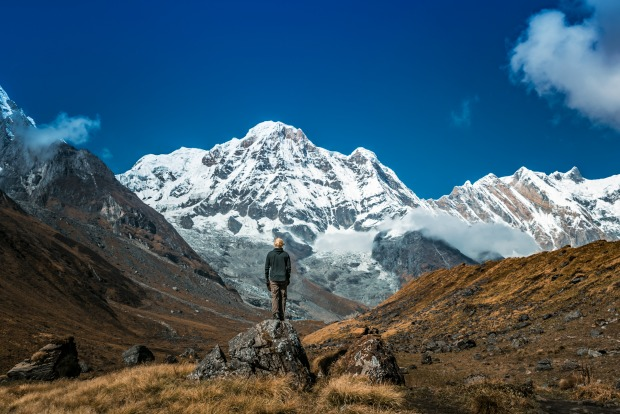 Mountain conservation project in Nepal
