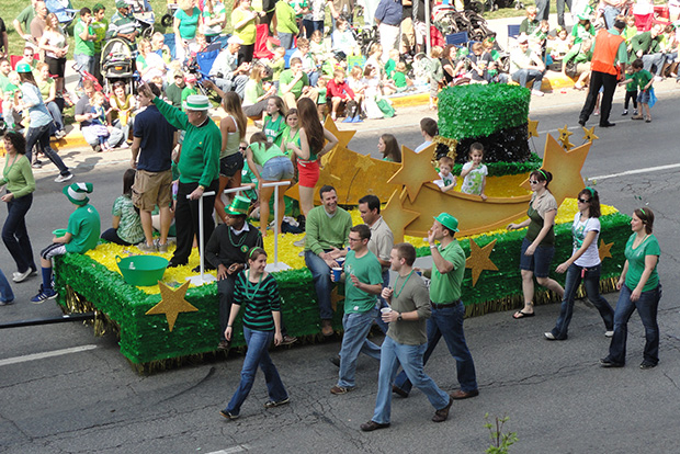 St Patrick's Day Indianapolis