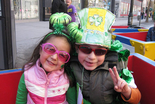 St Patrick's Day Montreal