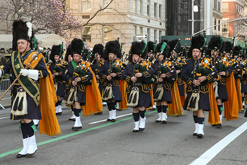 St Patrick's Day New York