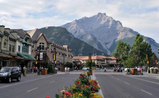 Banff Avenue, Banff, Alberta
