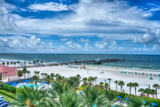 Beach near Tampa airport